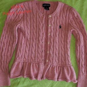 Girls Ralph Lauren sweater